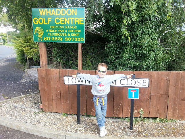 Kyler at Whaddon golf centre