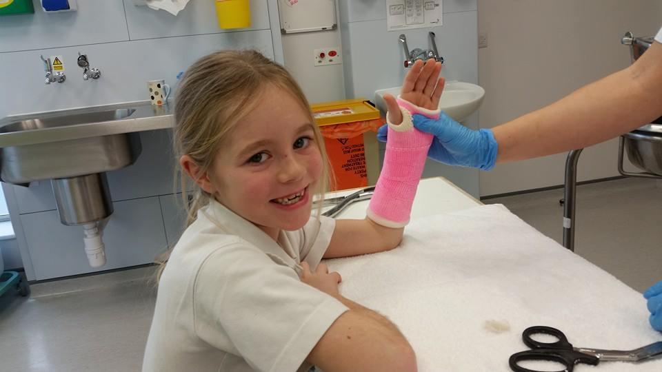 A broken arm wont stop me 3